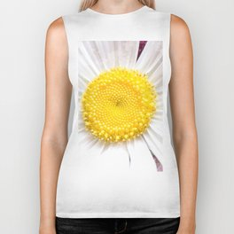 Daisy Flower Close-Up #1 #art #society6 Biker Tank