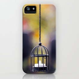 Candle in the Wind iPhone Case