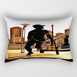 Roberto's Shadow Lives In Roberto's City Rectangular Pillow