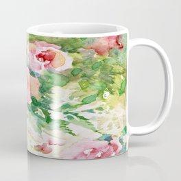 Cascading roses -Watercolor Coffee Mug