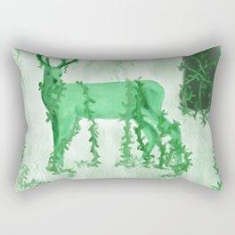 Wild Deer Rectangular Pillow