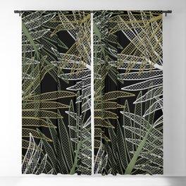 TROPICAL LEAVES GARDEN Blackout Curtain
