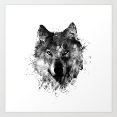 Wolf Like Me V2 Art Print