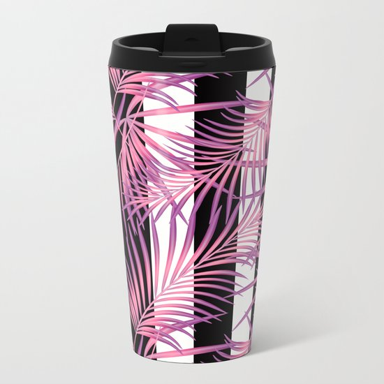 Tropicana. Metal Travel Mug
