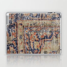 Vintage Woven Blue Laptop & iPad Skin