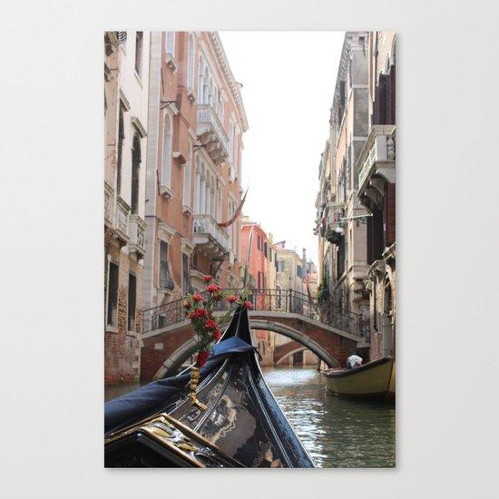 Italy Venice Gondola Canvas Print
