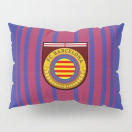 Catalonia Football Badge Pillow Sham