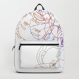 Familiar Faces Backpack