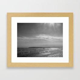 Love under the Sun Framed Art Print