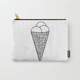 Ice cream cone - cornet de glace Carry-All Pouch