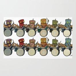 Robot - Drummers Rug