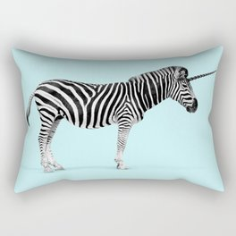 Unicorn Zebra Rectangular Pillow