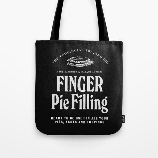 Finger Pie Filling Tote Bag