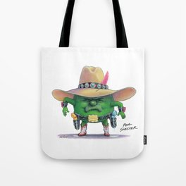 Pea Shooter Tote Bag
