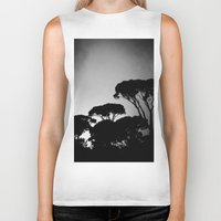 rome Biker Tanks featuring rome by chicco montanari