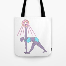 Yeast Raised: Triangle Pose Tote Bag