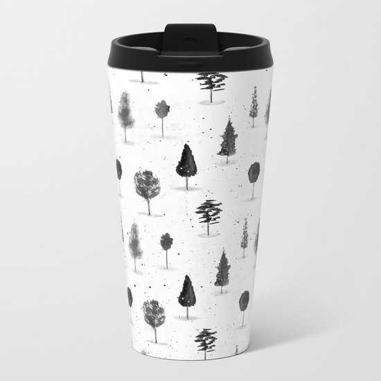 Eternal Forest Metal Travel Mug