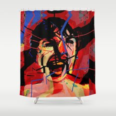Shower scene from Psycho. Shower Curtain