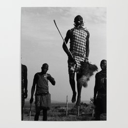 Warrior Dance pt. 2-The Hero; Nairobi, Kenya Poster