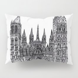 Rouen Cathedral Pillow Sham
