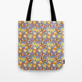 Coffee and Toast (Prune Purple) Tote Bag