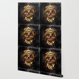 United animal Kingdom Sugar Skull Wallpaper