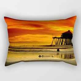 Califronia Sunset Rectangular Pillow