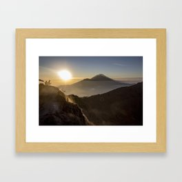 Morning Coffee Framed Art Print