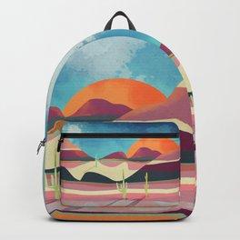 Pink Desert Glow Backpack