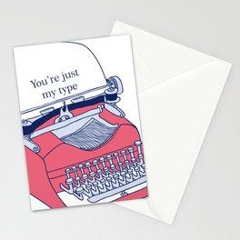 Typewriter Stationery Cards
