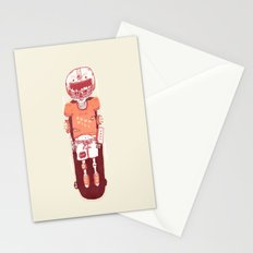 It's All Going Downhill From Here Stationery Cards