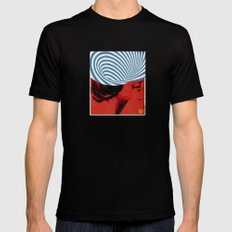 Cinquante | Collage Mens Fitted Tee LARGE Black