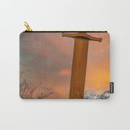 Llanberis Lake and Sword Snowdonia Carry-All Pouch