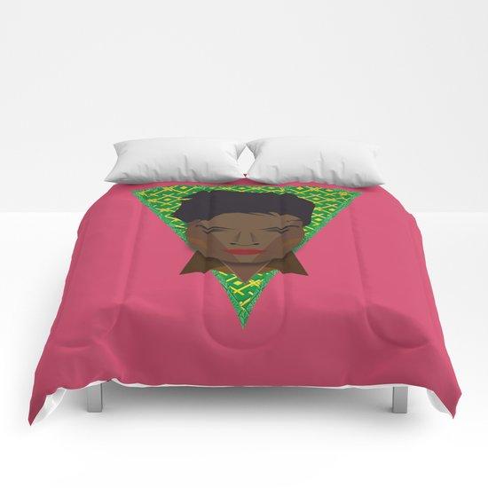 B Etniczero: Relativo a la raza Comforters