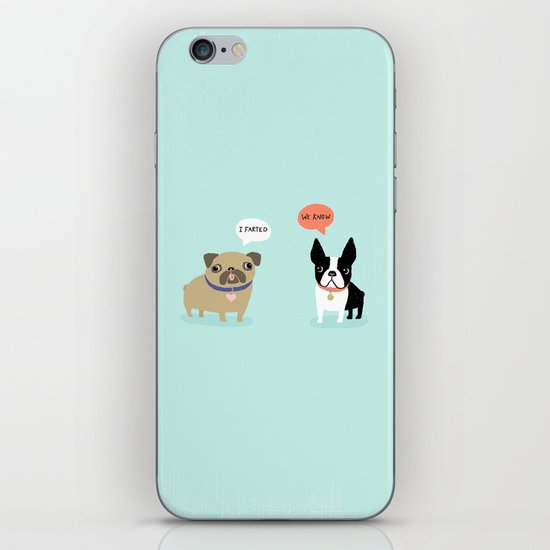 Dog Fart iPhone & iPod Skin