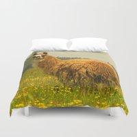 llama Duvet Covers featuring Llama by Nature In Art...