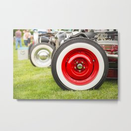 Hot Wheels Metal Print