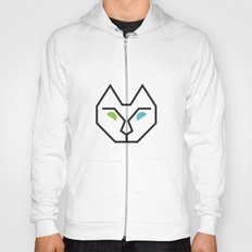 Abstract Multicolored Cat Hoody