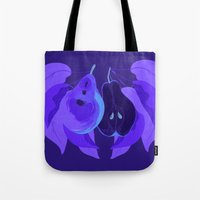 pear Tote Bags featuring Pear by Marlene Pixley