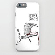 Vivimos en un peligro constante (We live in a constant danger) iPhone 6s Slim Case