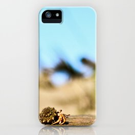 Journey of the Hermit Crab iPhone Case