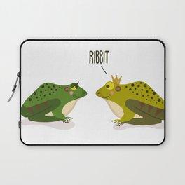 Ribbit Frogs Laptop Sleeve