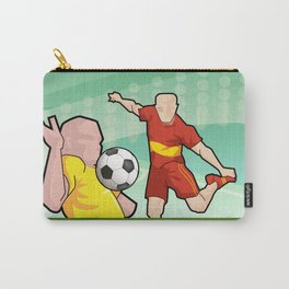 Soccer game Carry-All Pouch