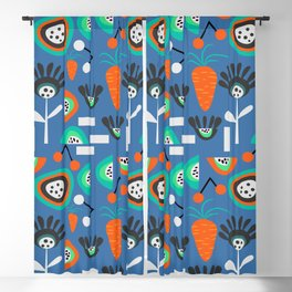 Funky fresh party Blackout Curtain