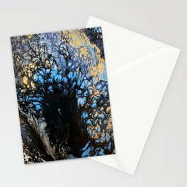 blue lagoon Stationery Cards