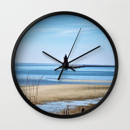 Lewes Lighthouse Wall Clock