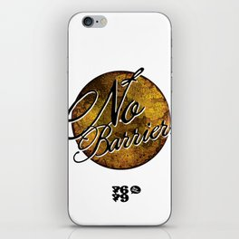 No Barriers iPhone Skin