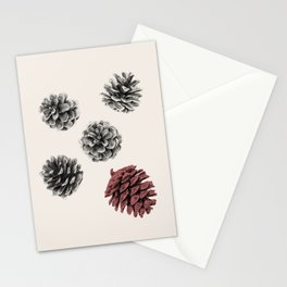 Pine cones Stationery Cards