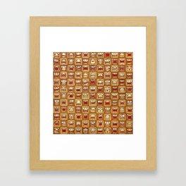 Hipsters Framed Art Print