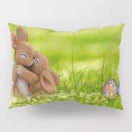 Easter Bunny Egg Pillow Sham